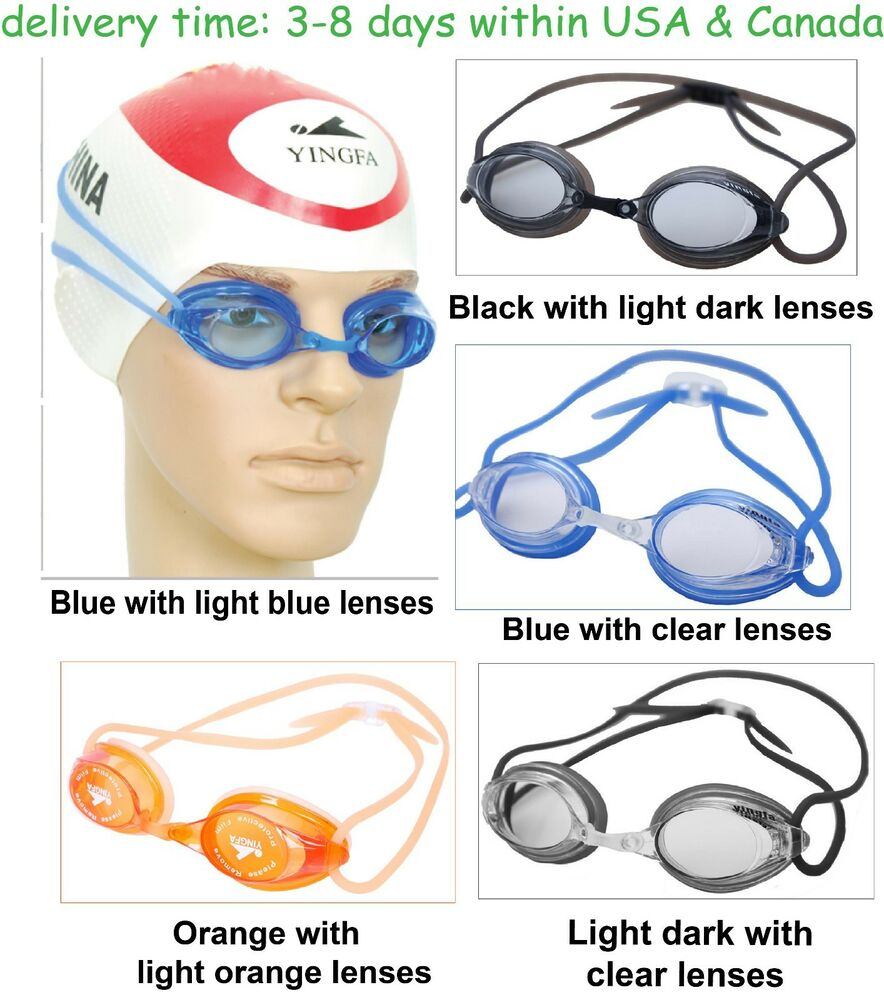 3c4e666797e5 Y570AF swimming goggles for racing   training anti-fog anti-leaking for  kids