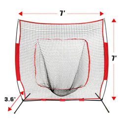 Kyпить Baseball Practice Net Pitching Batting Hitting Strike Zone Softball Thrower на еВаy.соm