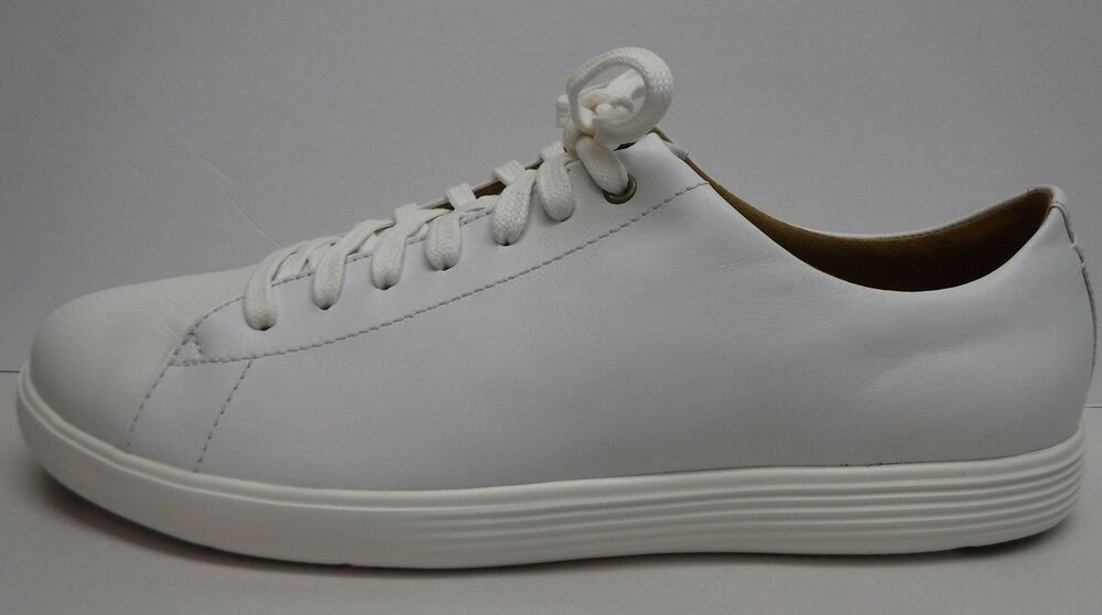 e546267e7135 Details about Cole Haan Grand .OS Size 10 White Leather Sneakers New Womens  Shoes