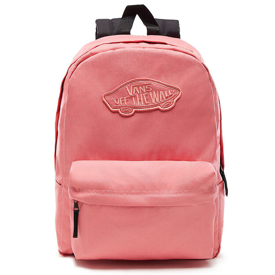 2d47b6dec3 Details about Vans Realm Backpack Rucksack pink unisex School Bag Desert  Rose VA3UI6YDZ