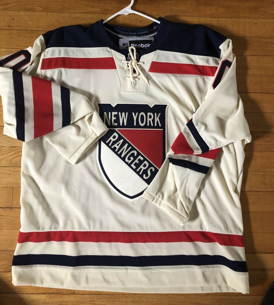 Details about New w o Tags NY Rangers Richards  19 Reebok Winter Classic  jersey Men s Med 53ef35bba