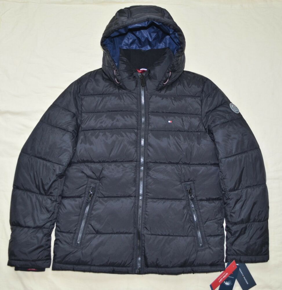 New Xxl 2xl Tommy Hilfiger Mens Quilted Padded Puffer