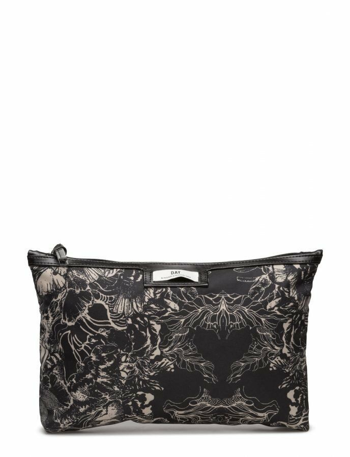 069e2097 Details about Day Birger Et Mikkelsen Gweneth P Flora Cosmetic Bag Black  Small DH087 DD 22