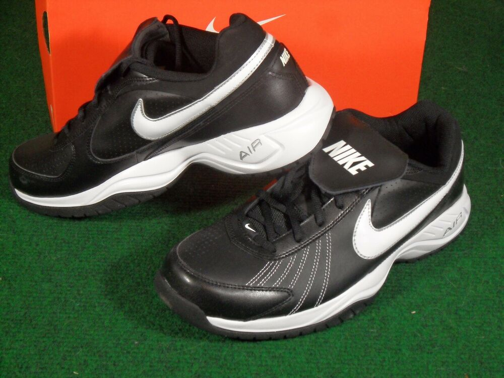 81ae0d861c86 Details about New Mens Nike Air Diamond Trainer Turf Baseball Football Shoe  Cleats Black White