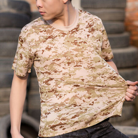 img-Men Desert Camouflage Tactical Military Short Sleeve T-Shirt Army Combat