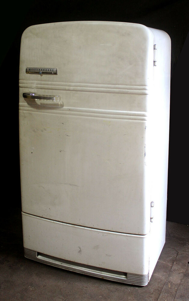 Working Complete Vintage Quot Westinghouse Quot Refrigerator Ice