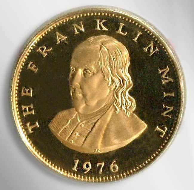 what are franklin mint coins worth