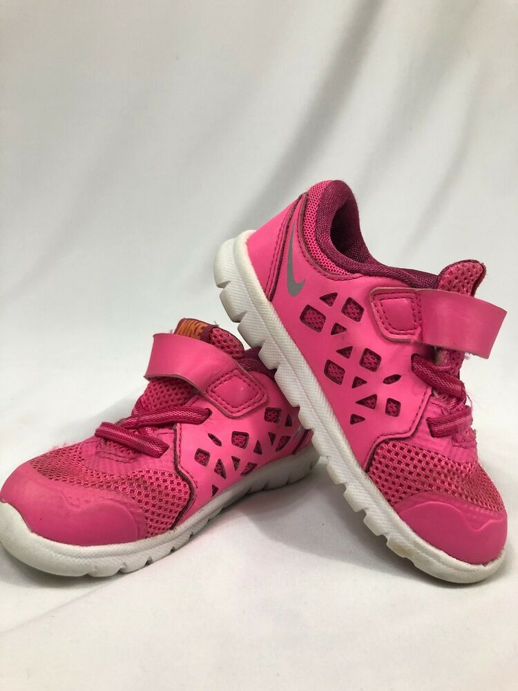 85747e8d2b Details about 639- Nike Shoes Girls Toddlers size 7C pink Color