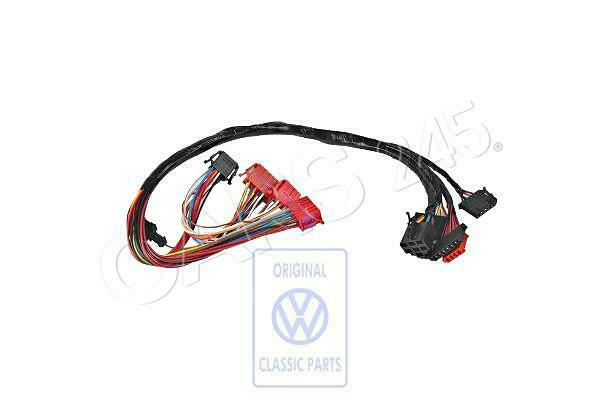 genuine vw wiring harness for steering column switch nos vw 6n0971063f