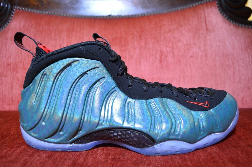 0761dcfb6c8 Details about WORN 2X NIKE AIR FOAMPOSITE ONE GONE FISHING Size 13  575420-300 jordan penny