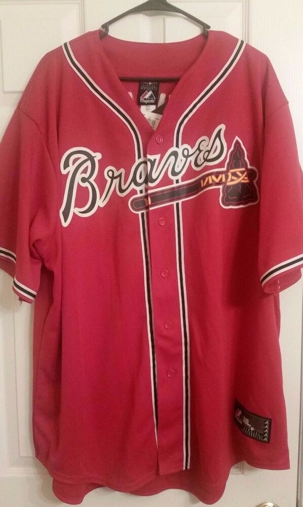 cheap for discount 72bb6 4ebc3 Majestic Atlanta Braves #22 Jason Heyward Jersey XXL | eBay