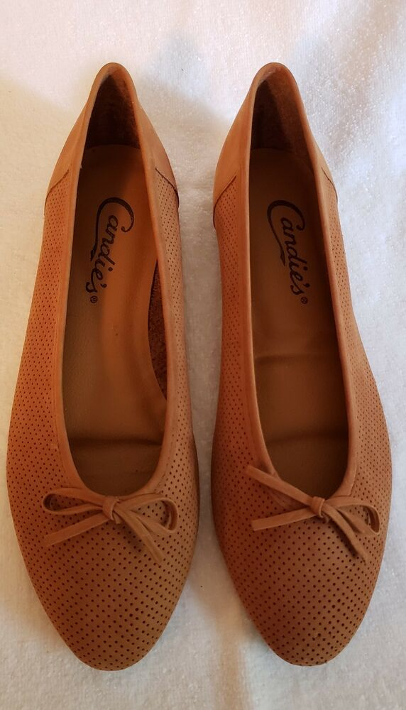 c02fb4ed1587 Details about Candies Womens Flats Shoes Bolero Brown Suede Size 8.5 New