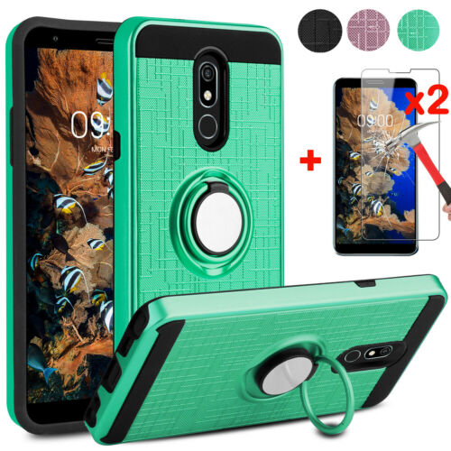 For LG Stylo 3 Stylo 4 G6 G7 Phoenix 4 Shockproof Case Cover+ Screen Protector