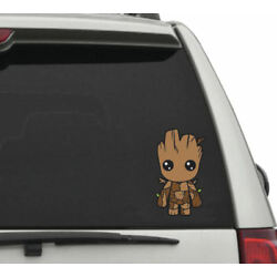 BABY GROOT  DECAL VINYL car truck Sticker FREE SHIPPING! BABY GROOT 5.5''