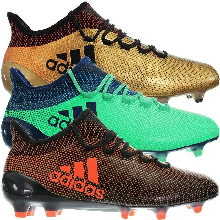 timeless design 6914f ce382 Details about Adidas X17.1 FG gold or green Men's Professional Soccer Boots  FirmGround NEW