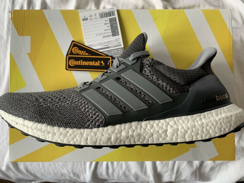"65cfccc00ce Details about Adidas Ultra Boost OG LTD ""Mystery Grey"" 1.0 aq5560 12 DS"