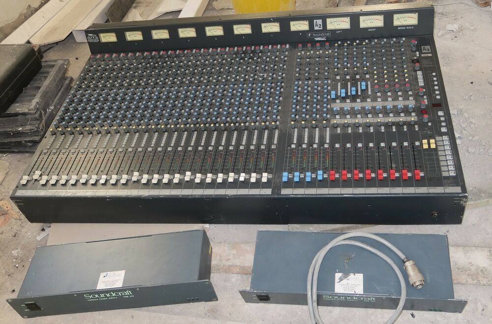 Calrec Alpha 100 64 Channel Sound Mixer Control Surface With Psu Moderate Price Video Production & Editing Audio For Video