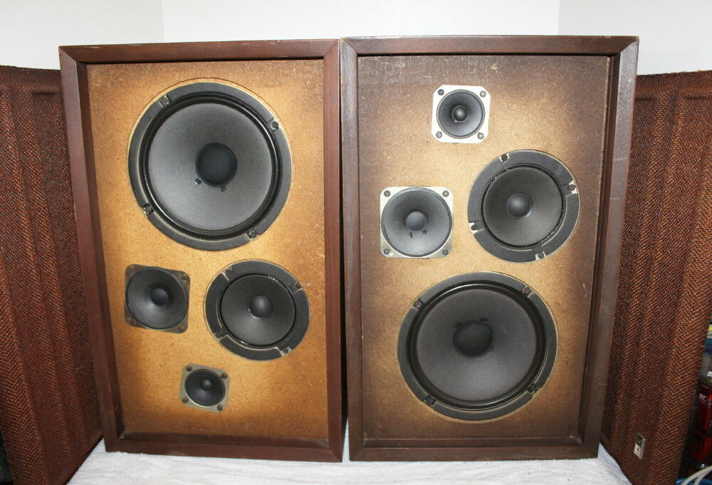 Classic Fisher 4way Stereo Speakers 8\ Woofers Working Rhebay: Bose Audio System With Subwoofers At Gmaili.net