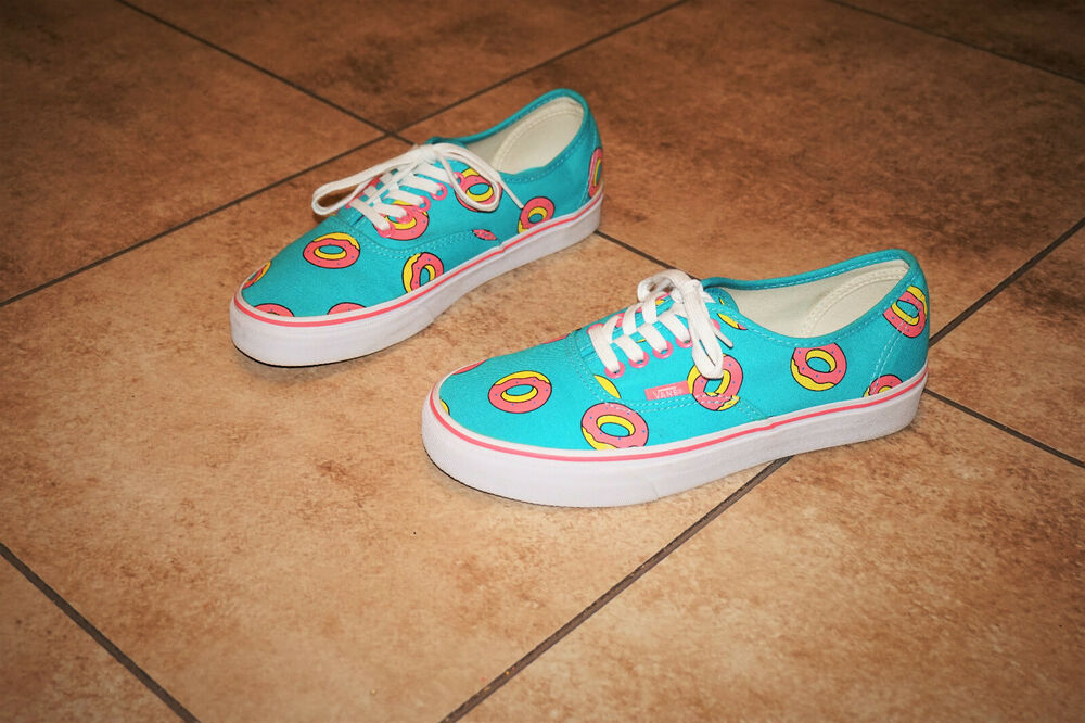 4485b422695bed Details about A Tribe called Quest 8.5 Vans Unisex Odd Future X Doughnut  DONUT 7 Golf Wang
