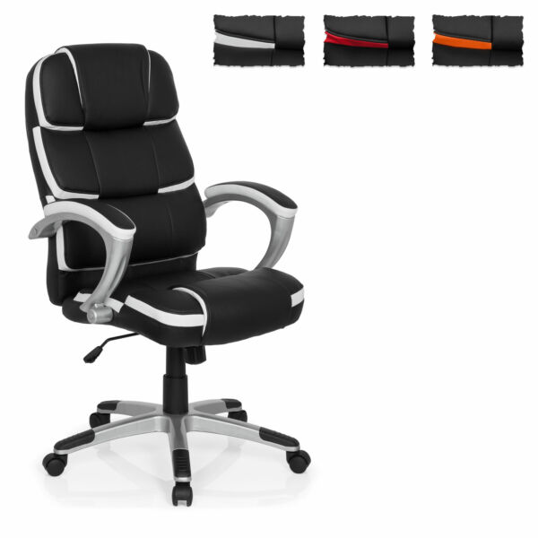 Executive Office Chair Swivel Computer PU Leather Chair GAMING PRO BY 100