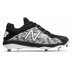 Kyпить New Balance Low-Cut 4040v4 Pedroia Metal Baseball Cleat Mens Shoes Black with на еВаy.соm