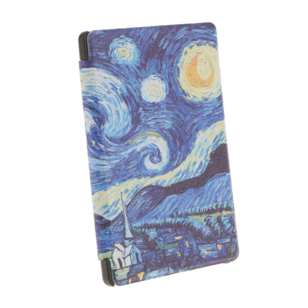 #5Protective Case Cover Printed Dustproof Flip Case For Kobo Aura Edition2