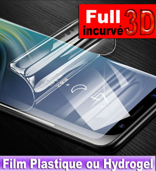 Film HYDROGEL  Protection écran Galaxy S10 + e S9/8 + Note 9/8 Protecteur Screen