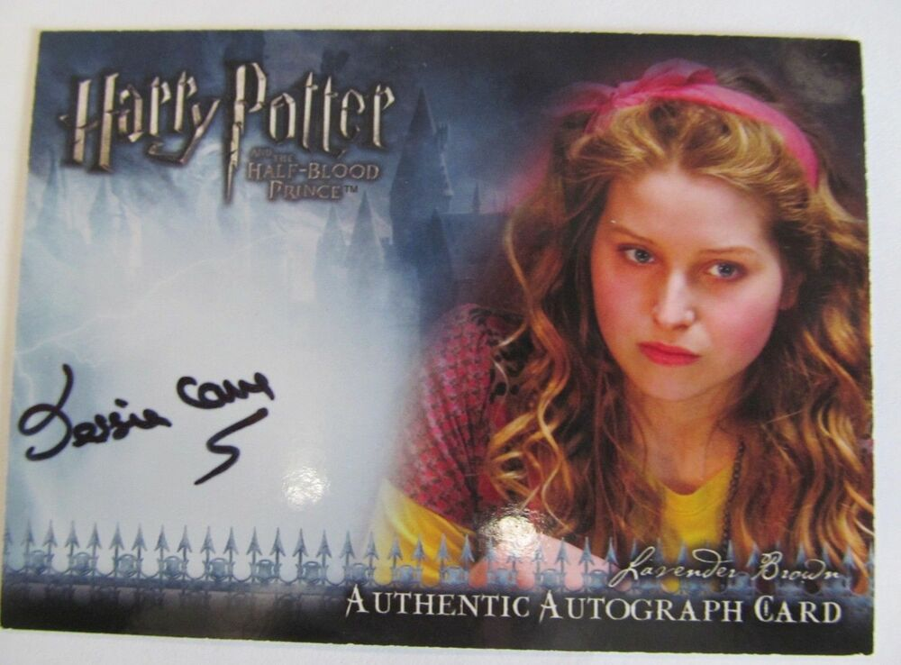 JESSIE CAVE HARRY POTTER HALF BLOOD PRINCE as LAVENDER ...