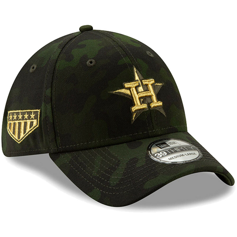 best website c1d36 7f13f Details about Houston Astros New Era 2019 Armed Forces Day 39THIRTY Flex Hat