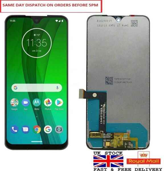 For Motorola Moto G7 XT1962 LCD Screen Display Touch Digitizer Assembly UK STOCK