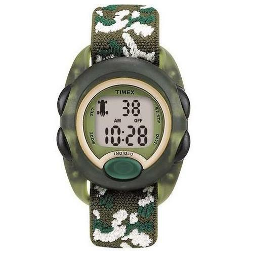 UPC 753048006854 product image for Timex T71912, Kid's Digital Camouflage Watch, Alarm, Indiglo, Used | upcitemdb.com