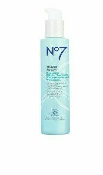 EAN 5000167255096 product image for No7 Radiant Results Revitalising Micellar Cleansing Water 5096   upcitemdb.com