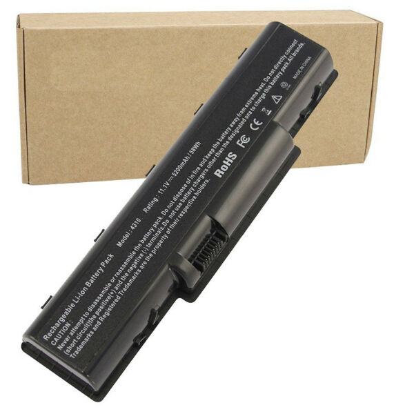 Batterie 5200mAh pour PC portable ACER aspire 5535 5536 5735 5738 5740 AS07A31