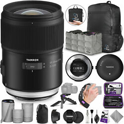 Tamron SP 35mm f/1.4 Di USD Lens for Nikon F w/ Tamron Tap-in Console and Bundle