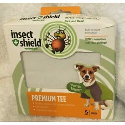 Insect Shield Insect Repellant Premium T-Shirt for Protecting Dogs from Fleas, T
