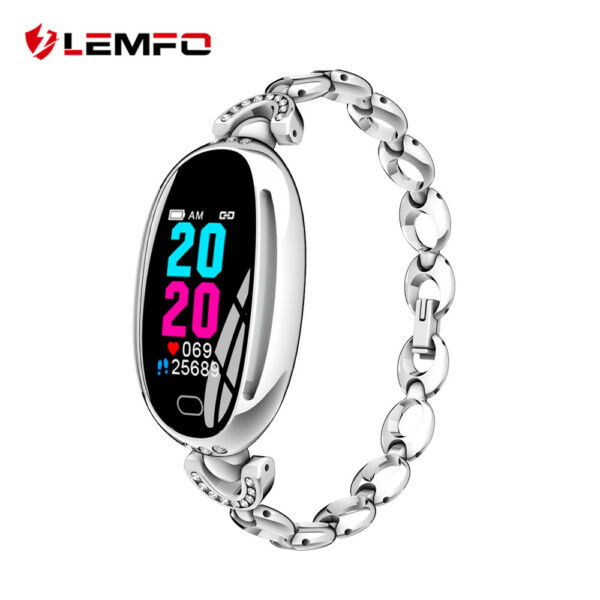 Lemfo E68 Montre femme heart rate blood pressure test lady Bracelet intelligent