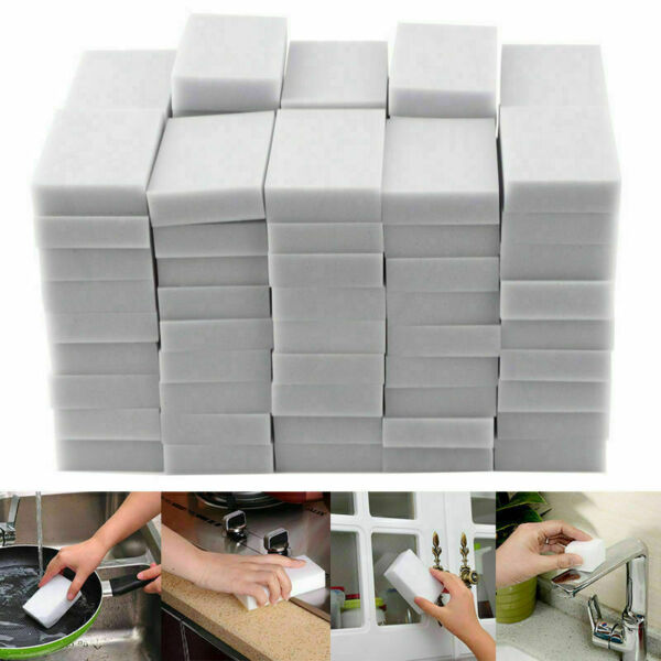 50X MULTIFUNCTIONAL RECTANGLE MAGIC SPONGE ERASER CLEANER HOME CLEANING TOOLS E