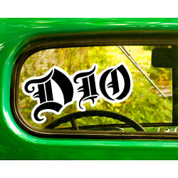 2 DIO BAND DECALs Sticker Bogo For Car Window Bumper Laptop Free Shipping