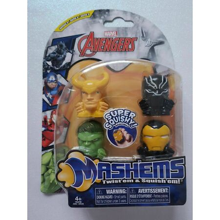 img-Marvel Avengers Mash'ems - Series 5 - Pack Of 4 - Rare Characters Brand New