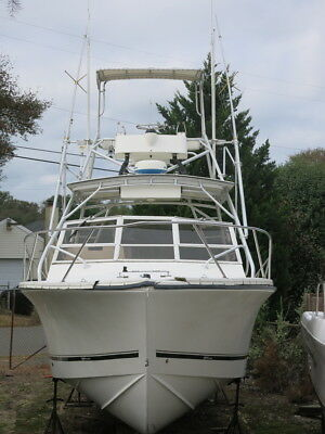 2003 Carolina Classic 28 Express Express Cruiser fishing boat Clean 03 project