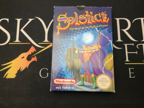 Solstice The Quest for the Staff of Demnos - NES (TESTED) PAL