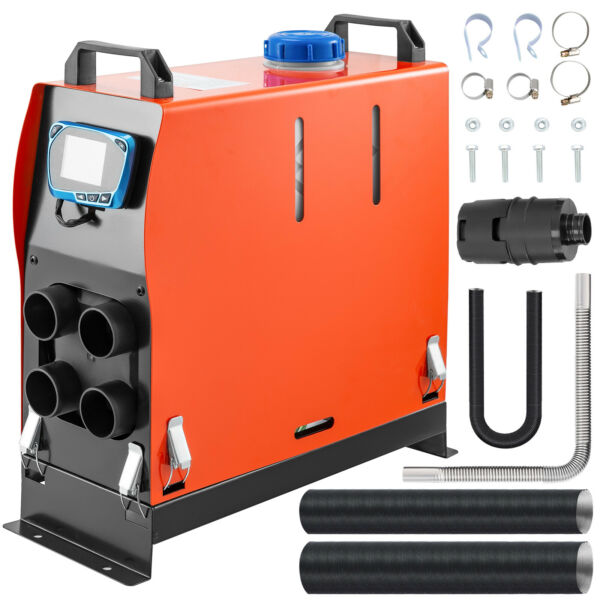 12V 5KW Diesel Riscaldamento Parcheggio Air Heater All in One Display Lcd