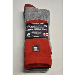 Kyпить 3-6-12 PAIR NEUROPATHY CIRCULATORY DIABETIC THERMAL CREW SOCKS 9-11 10-13 13-15 на еВаy.соm