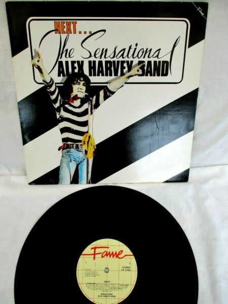 THE SENSATIONAL ALEX HARVEY BAND, NEXT, 1973, (LATER ISSUE) EXCELLENT CONDITION