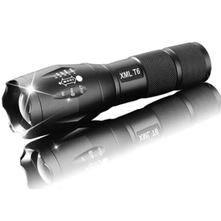 img-Lampe Torche LED Torch XML-T6 ? PUISSANTE Sport Velo Camping Pêche Militaire