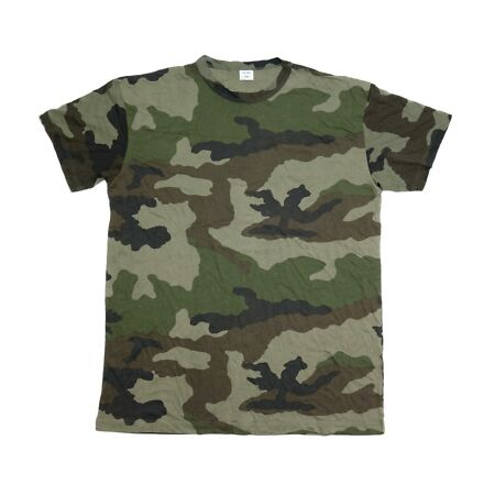 img-French Army Surplus Woodland Camouflage T-Shirt