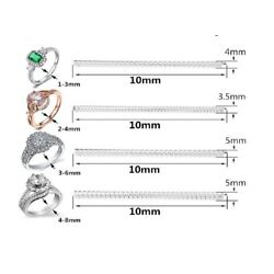 Kyпить 4Pcs Ring Size Adjuster Invisible Clear Ring Sizer Jewelry Fit Reducer Guard US на еВаy.соm