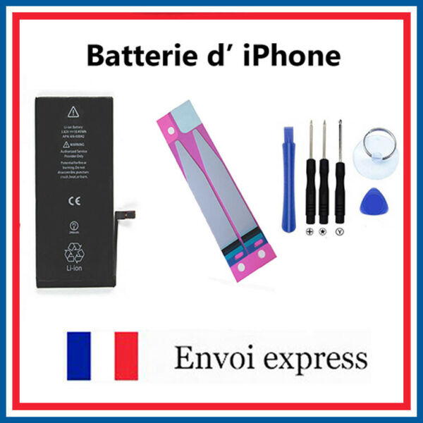 Batterie Iphone 4 4s 5 5s 5c SE 6 6s 6P 6SP 7 7P 8 X - OUTILS STICKERS battery