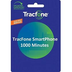 Kyпить TracFone 1000 Minutes For Smart Phones на еВаy.соm