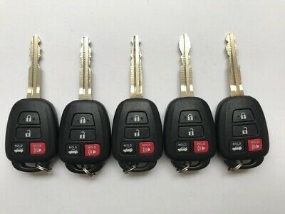 Lot of 5 OEM Toyota Camry Corolla Remote head Key HYQ12BEL Chip H, 4B Trunk
